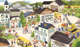 Libro illustrato altoatesino per bambini