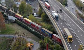 Traffico merci combinato sull'asse del Brennero